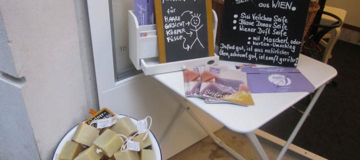 Wiener Seife der StoBa Seifenmanufaktur