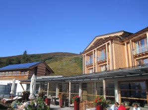 Aussenbereich des Feuerberg Resorts