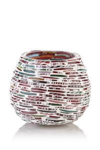 Teelichthalter Polly aus recyceltem Glas bei Esprit