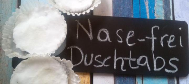 """Nase-frei""- Duschtabs"