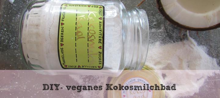 DIY – veganes Milchbad
