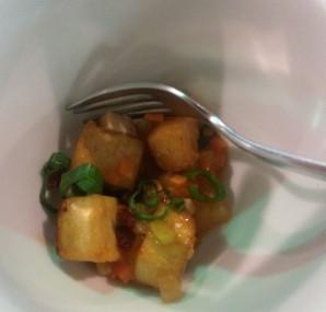 Tofu in süß-saurer Soße