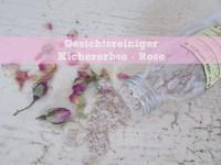 DIY: Gesichtsreiniger Kichererbse – Rose