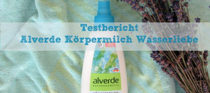 Wasser marsch! Alverde Körpermilch-Spray Wasserliebe im Test
