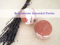 DIY-Badebombe Lavendel-Tonka