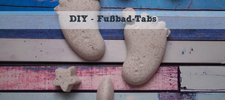 DIY – Fußbad-Tabs