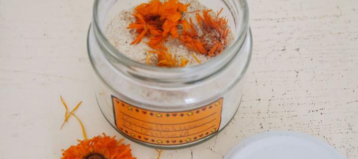 DIY – Ringelblumen-Milchbad