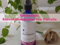 Testbericht: Bio-Rosenblütenhydrolat von Farfalla