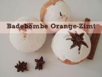 DIY – weihnachtliche Badebomben Orange-Zimt