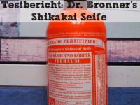 Testbericht: Dr. Bronner's Shikakai Seife Teebaum