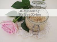 Crazy Coconut: DIY-Kaffee-Kokos Peeling