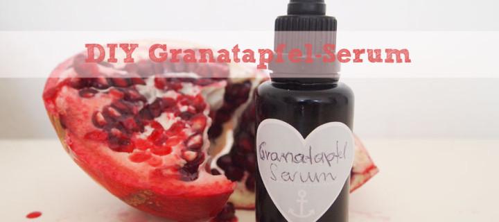 DIY: Granatapfel-Serum