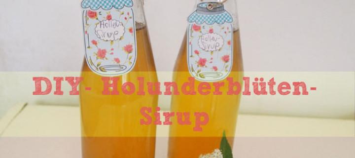 DIY–Holunderblüten-Sirup