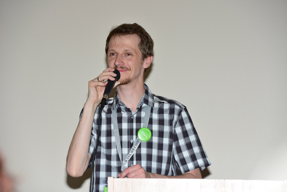 NaturkosmetikCamp Initiator Wolfgang Falkner Bild: Dirk Holst