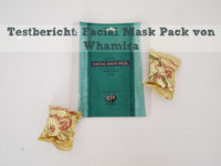 Testbericht: Korean Beauty – Whamisa Sea Kelp Facial Sheet Mask