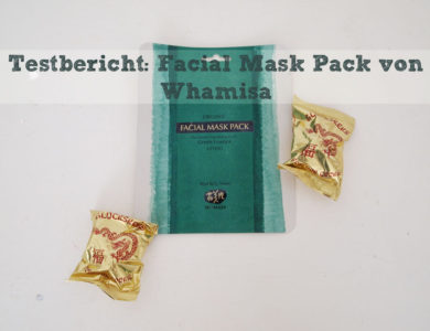 Testbericht: Korean Beauty – Whamisa Sea Kelp Facial Sheet Mask