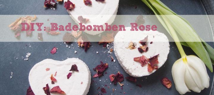 DIY: Badebomben Valentinsherz Rose