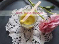 DIY: Cold Cream