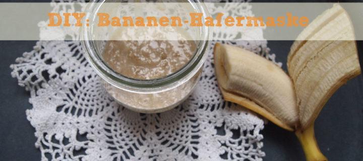 DIY: Bananen-Hafermaske