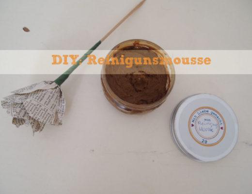 DIY: Reinigunsmousse mit Kaolin und Honig