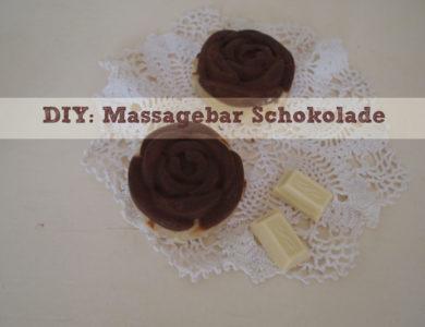 DIY: Massagebar Schokolade