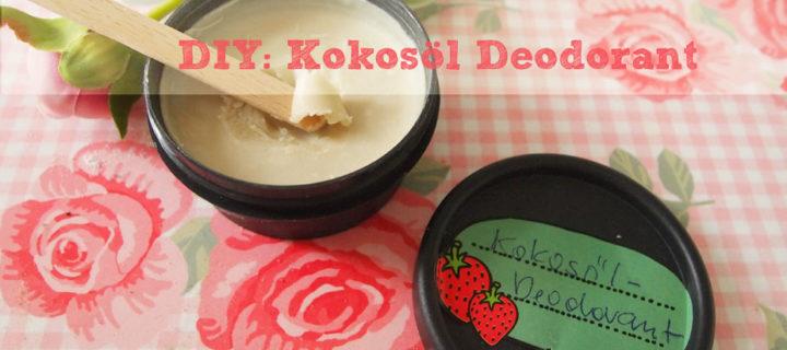 DIY: Kokosöl Deodorant