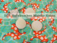 DIY: Badebomben Matcha-Kokos